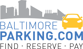 Baltimore Parking – Find Reserved Parking near Baltimore Logo