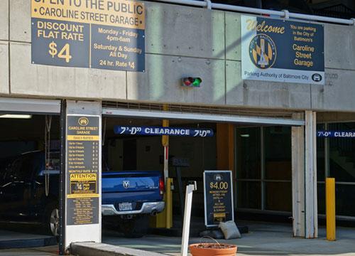 Caroline street garage baltimore parking find reserved parking near baltimore baltimore - Parking garage near my location ...