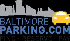 Baltimore Parking – Find Reserved Parking near Baltimore Logo